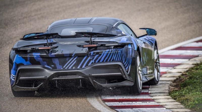 Pininfarina gives glimpse at 1,877-horsepower Battista's development, including Nardo testing