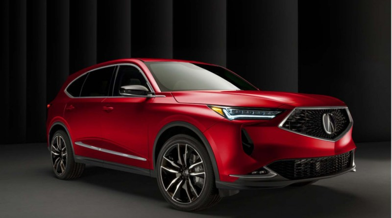 Redesigned 2022 Acura MDX to debut Dec. 8
