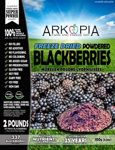 Blackberries Powder - Front - Package - WORKING