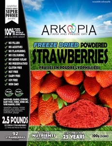 Strawberries Powder - Front - Package - WORKING