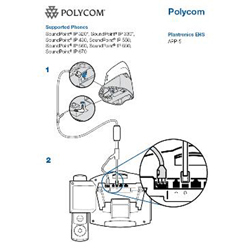 Plantronics EHS for Polycom, Cisco, Avaya, Siemens, Alcatel