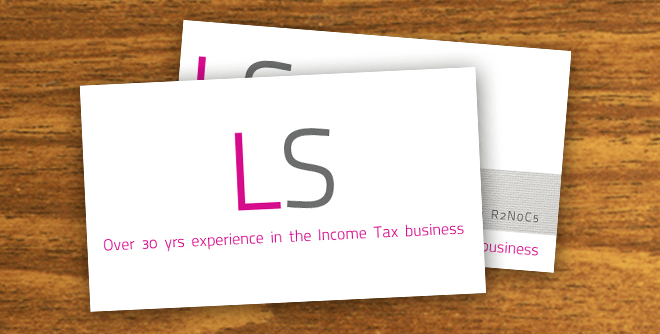 LS Business Card Design