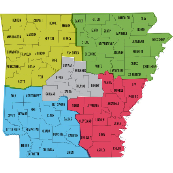 31 amazing Arkansas Map By County bnhspinecom