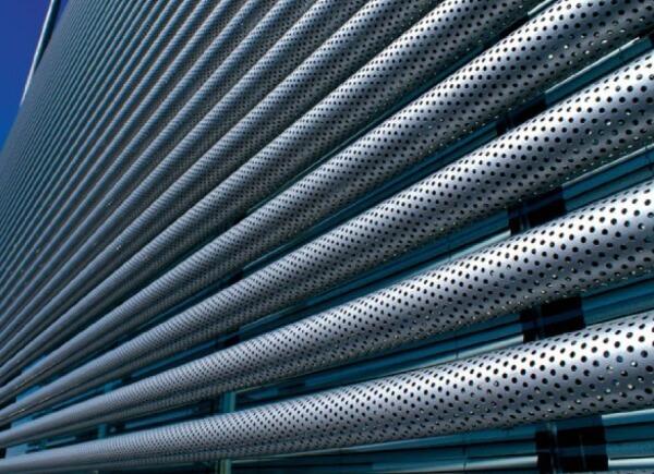 Os brizes de alumínio tubular , permitem que o ambiente receba uma estrututura modelada , para diversificar o visual estético do. Brises De Aluminio Arktipo Esquadrias De Aluminio Rj