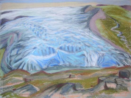 Russel-Gletscher Inlandeis
