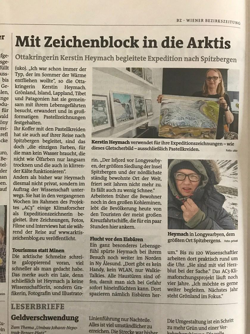Beitrag Wiener Bezirkszeitung