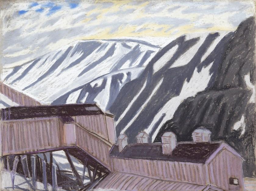 Grube Nr. 2 / Longyearbyen / Spitzbergen / 2017 - verlassene Kohlegrube (c)Heymach