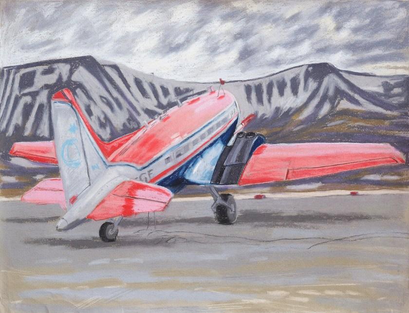 Longyearbyen / Spitzbergen - Forschungsflugzeug Polar 6 / Svalbard Lufthavn 2 (c)Heymach