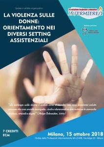 La violenza sulle donne: orientamento nei diversi setting assistenziali @ OPI MIlano Lodi Monza e Brianza
