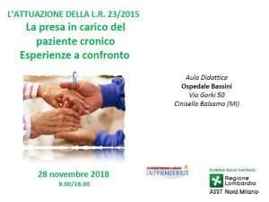 La presa in carico del paziente cronico: esperienze a confronto @ ASST Nord Milano