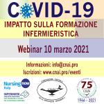 10 mar. Il Covid-19 e l'impatto sulla formazione infermieristica (webinar)