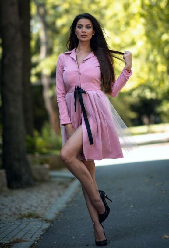 дамско сако Розова феерия