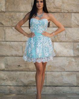 Луксозна рокля Синева