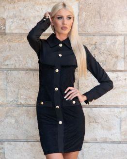 Черна рокля Силвана