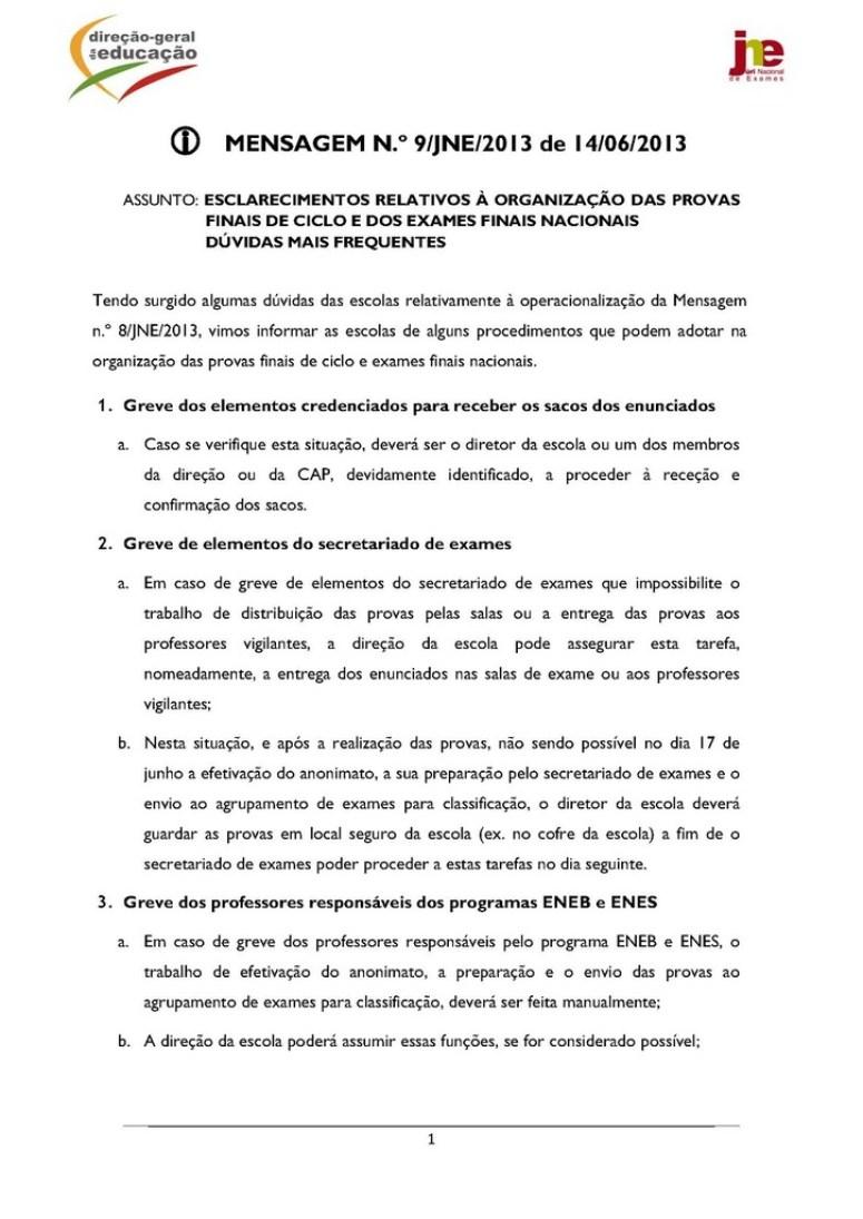 Mensagem n.º 9_JNE_2013 - operacionalização da Mensagem n.º 8_dúvidas mais frequentes_Página_1