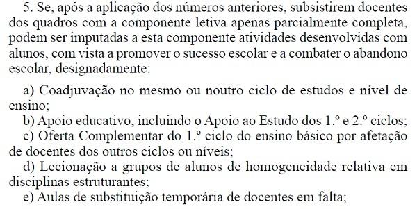 número 5 artigo 8