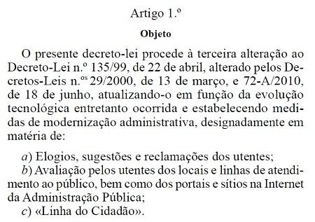 Decreto-Lei 73-2014