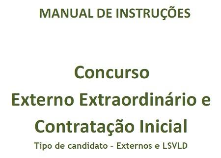 manual validação