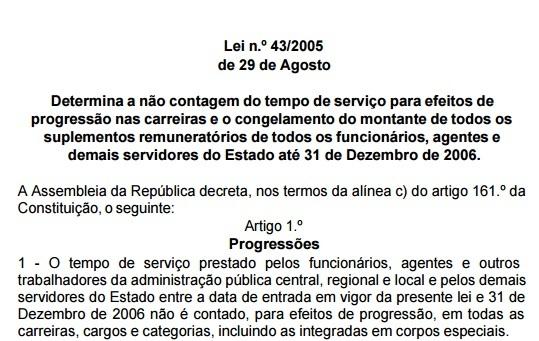 lei 43-2005