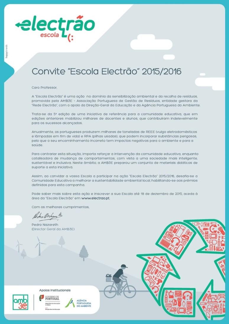 Cartaz Convite