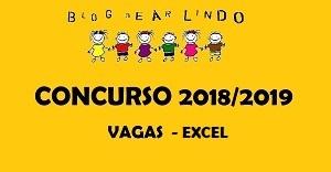 CONCURSO 2018/2019