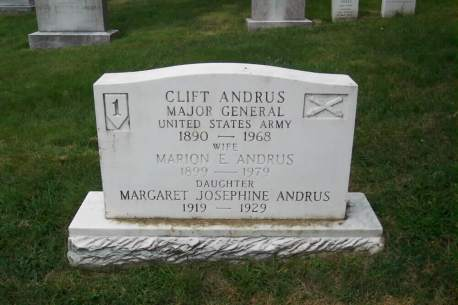 Clift Andrus Gravesite PHOTO June 2003