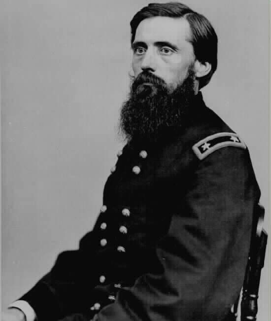 Image result for photo of general john rawlins civil war
