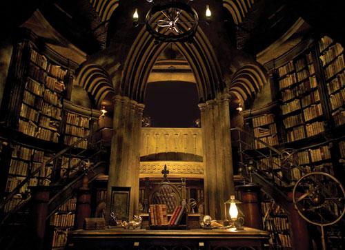 Dumbledore's office. Images courtesy Universal Orlando
