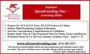 Advertisement: Advanced Reading Concepts