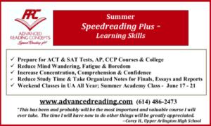 Advertisement: Advanced Reading Concepts