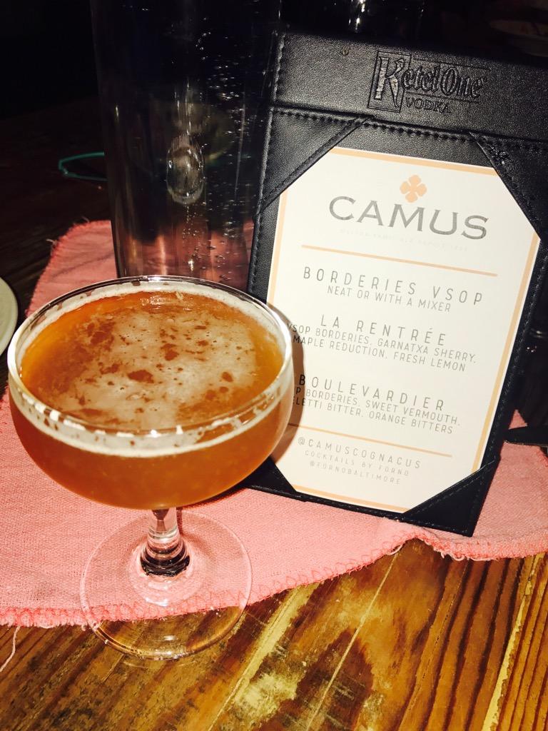 Baltimore Blogger Bytes Camus Cognac