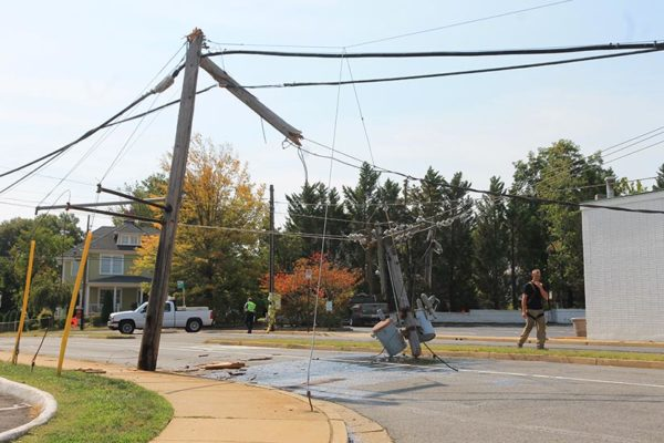 Roads Closed Power Out Around Cherrydale  ARLnowcom