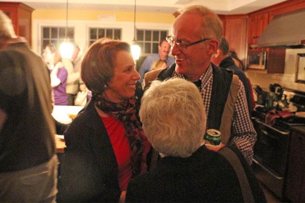 Johne Vihstadt and Libby Garvey