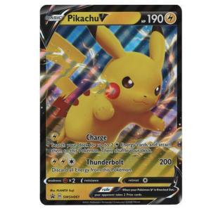 Pikachu V – SWSH061 – Oversized Promo Card, geheel nieuw. Komt rechtstreeks uit de Shining Fates box.