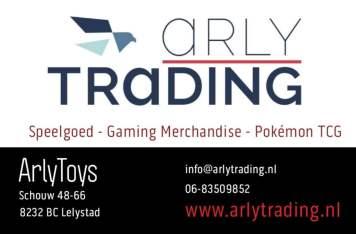 Visitekaartje ArlyTrading - ArlyToys