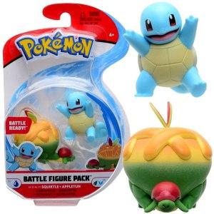 Pokemon Figuren Squirtle & Appletun