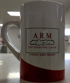 Roman Handshake Extending Love Coffee Mug