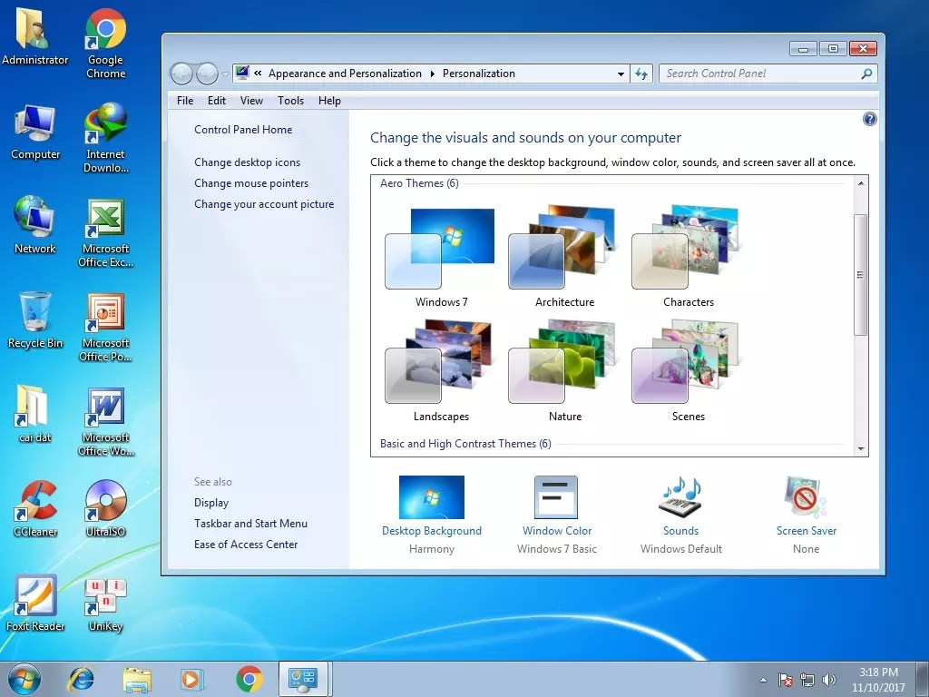 Ghost Win7 Ultimate (X64 - X86) Full soft, full Driver, support UEFI (Version 10)copy