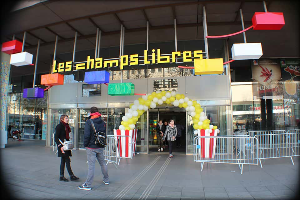 Photo Champs Libres Rennes