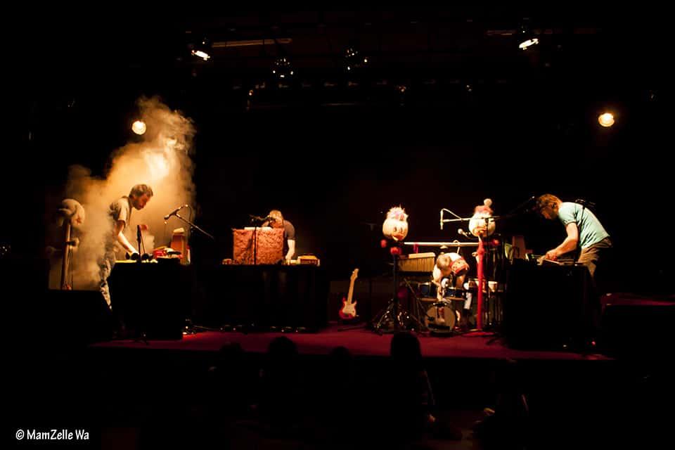 Photo - Chapi Chapo et les petites musiques de pluie sur scène