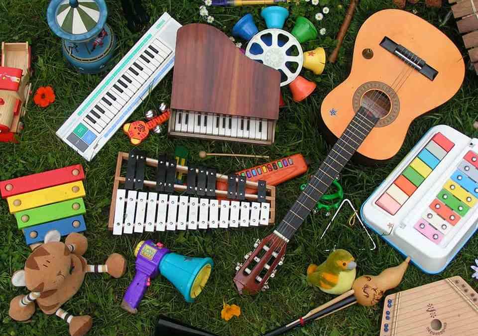 Photo instruments de musique - Chapi Chapo et les petites musiques de pluie