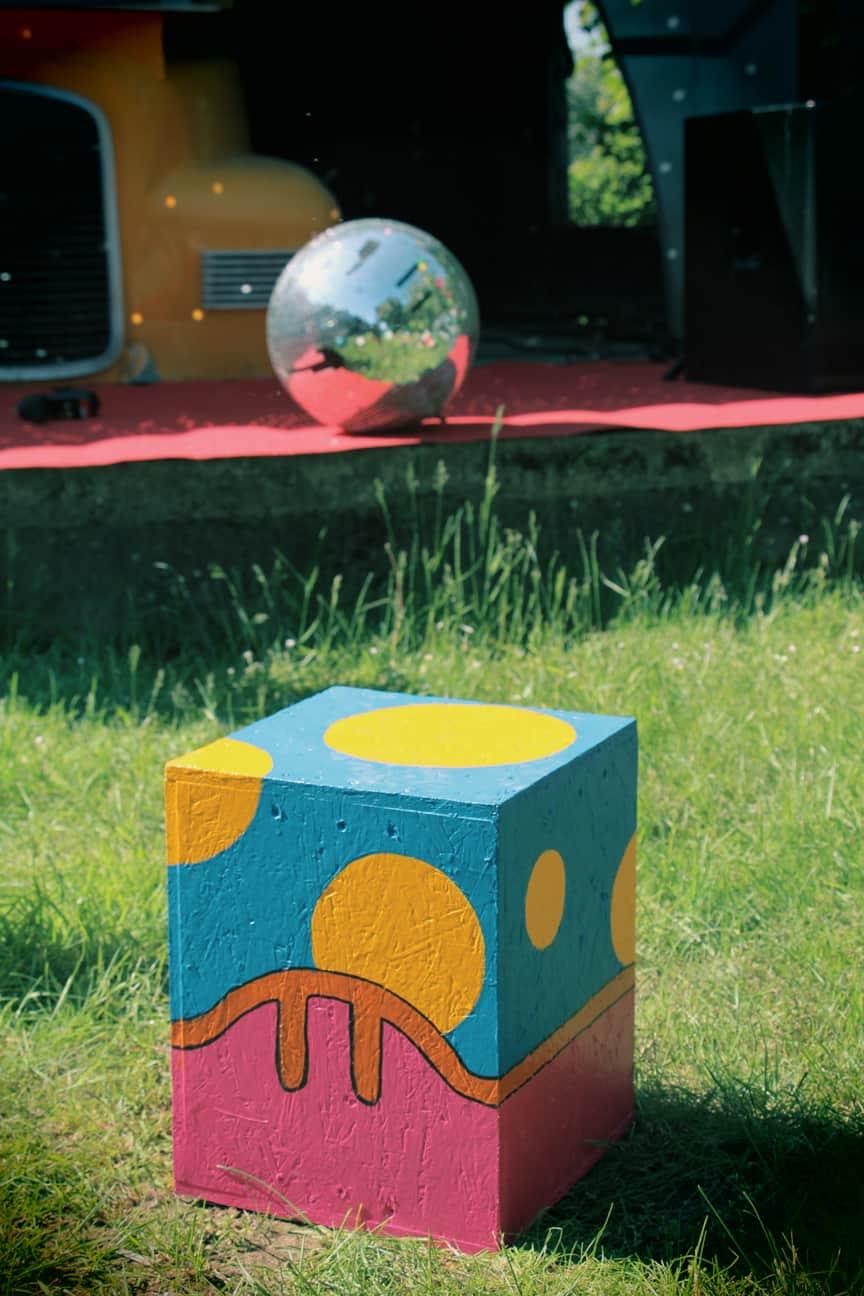 Photo de la décoration extérieure - La Fête #4 au Jardin Moderne