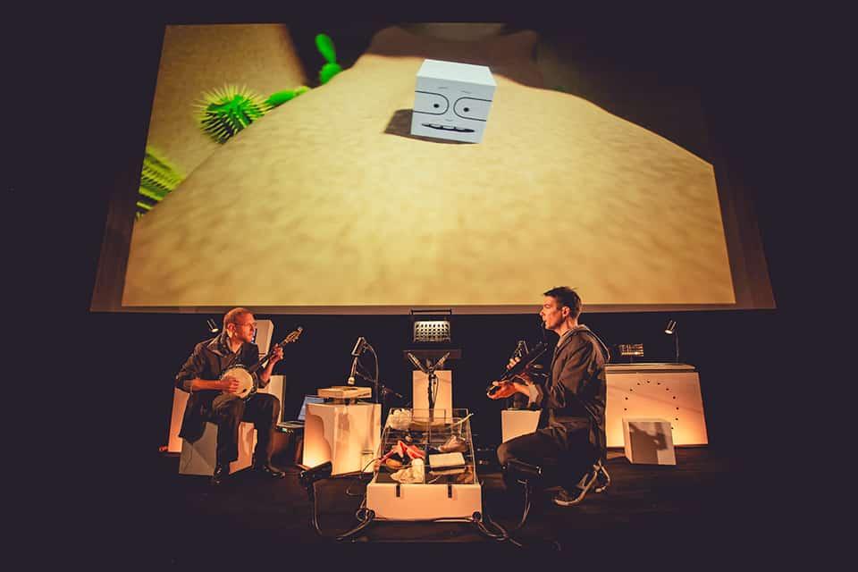Photo SATI sur scène - Rick le Cube