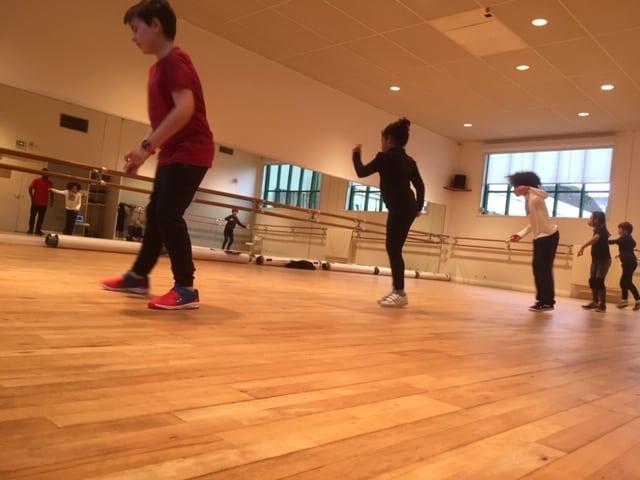 Photo / enfants qui dansent