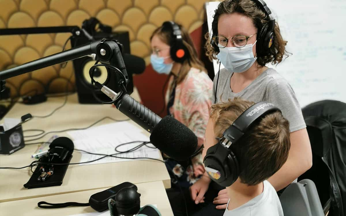 Visuel Stage Radio