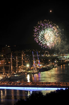 Feu d'artifice Armada Rouen
