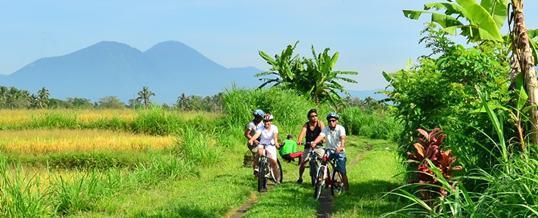 Cycling di Bali – Luwus Camp Village Cycling Package
