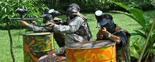 Paintball di Bali - Bali Taro Adventure 17072016