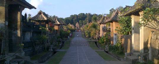 Outbound di Bali – Desa Tradisional Penglipuran Bangli