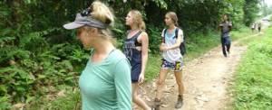 Amazing Race di Bali - Trekking 032015